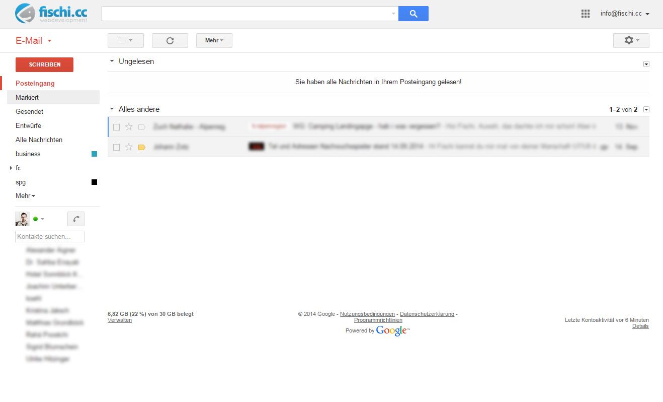 Klare Inbox - klare Gedanken