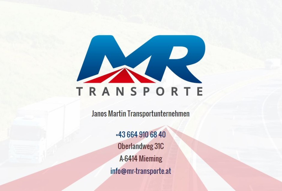 Corporate Design MR Transporte